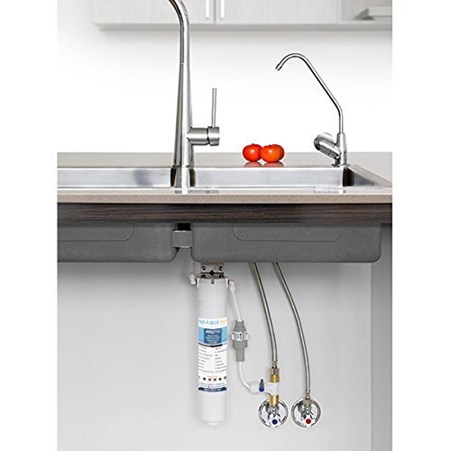 Quick-Twist Undersink Water Filter System ABQT12 Suits Puretec QT12R