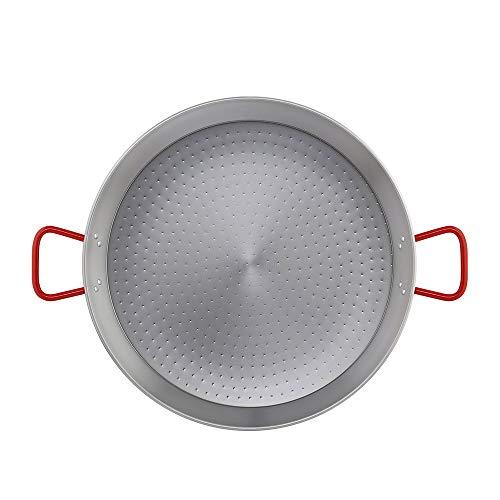 Metaltex - Paellera Acero Pulido 20 Raciones 60 cm