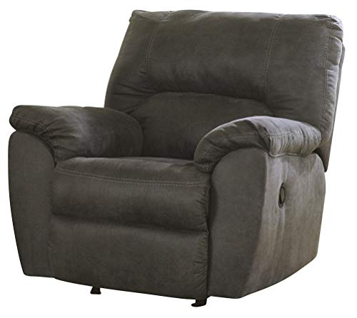 Signature Design by Ashley Tambo Rocker Recliner Pewter