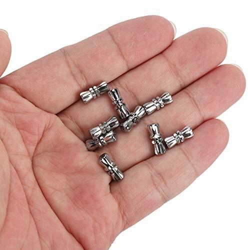 Cierre de collar, cierre artesanal duradero, muy duradero para collares tobilleras artesanías pulseras con dijes