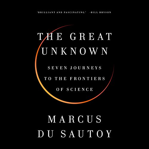 The Great Unknown audiobook cover art