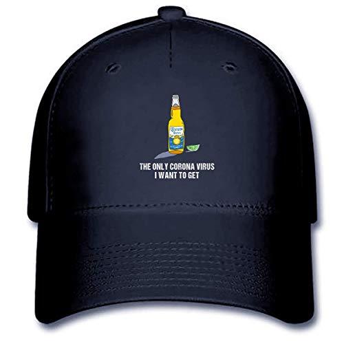 The Only Córónávírús I Want To Get Funny Cap – Funny Paper Coroona Beer Cap For Men – Córónávírús Against Strong Usa Handmade Cap (2) Customize Hat Hat 5065