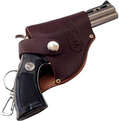 Harini bell Star Medium Size Gun Shape Cigarette Lighter with Holster