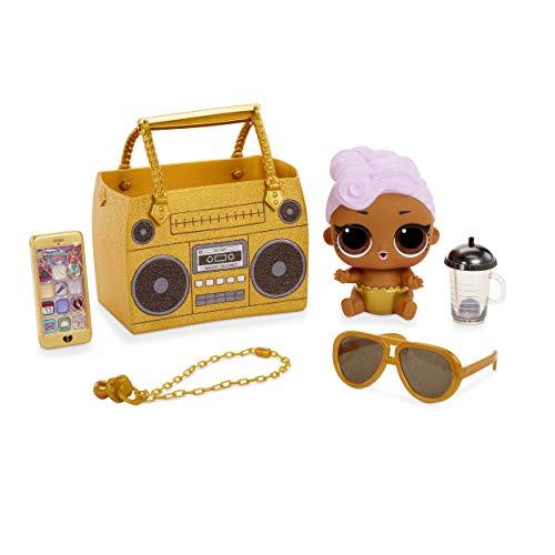 LOL Surprise Sammelbare Modepuppen - Mit Handtasche & Make-up-Überraschungen - Lil DJ - Ooh La La Baby Surprise