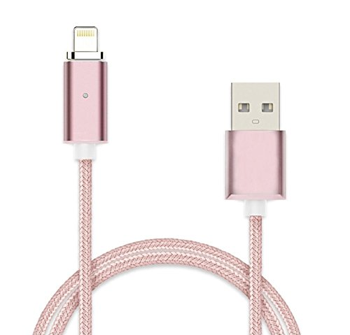 myTech® Cable de carga magnético Lightning para Apple iPhone y iPad, color...