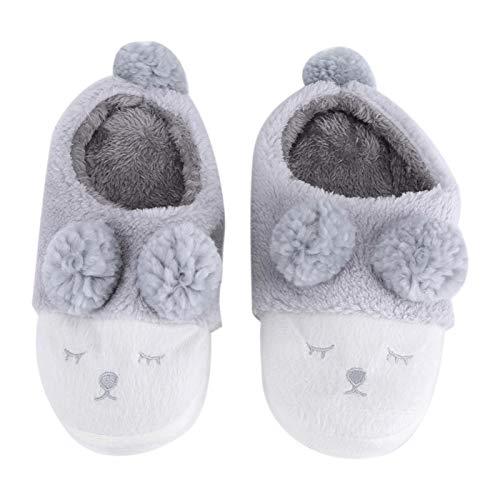 Raguso Bonitas zapatillas de estar por casa para niñas, para invierno, cálidas,...
