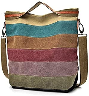 Canvas Multi-Color bag for Women, Tote Bags