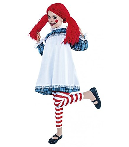 disfraz de muñeca de trapo talla 7-9