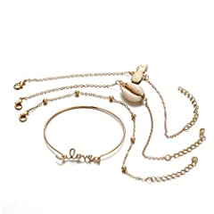 Import This bracelet is fit for daily wear And the most beautiful and fashionable female A secure stainless steel magnetic clasp serves as a focal point and provides for an easy on and off. This fashion bracelet is stylish and can be the perfect gift...