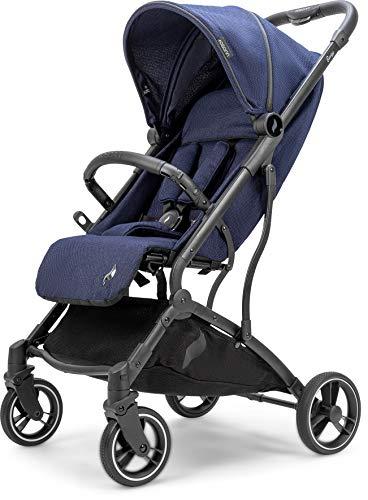 Osann Boogy Sportwagen-Buggy mit Liegefunktion ab Geburt bis 22 kg - inklusive Regenverdeck, Transporttasche und Babyschalen-Adapter // Indigo COLLECTION 2021