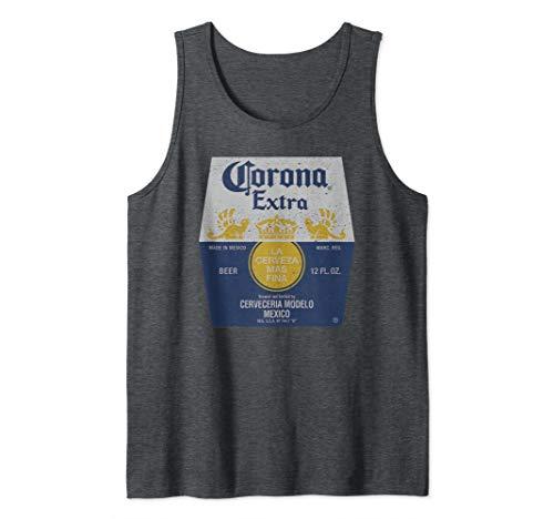 Corona Extra Bottle Label Tank Top