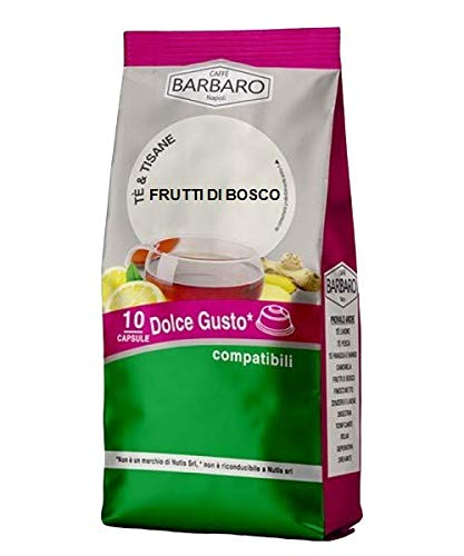 BESSEN THEE BARBARO - 10 DOLCE GUSTO COMPATIBELE CAPSULES 3.5g