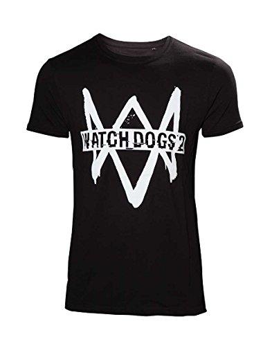 Preisvergleich Produktbild Watch Dogs 2 - T-Shirt met Logo - Maat M