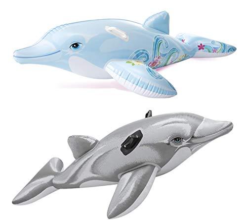 Intex Dolfijn opblaasbaar 175x66 cm (58535)