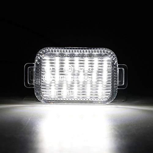 Luces de matrícula de Coche Una Pareja Compatible con Mazda A/T (aka Mazda 6) 2014-2017 LED de la Placa LED de la Placa Lámpara de la Placa de la Placa de la luz de los Accesorios de Autos de luz bl