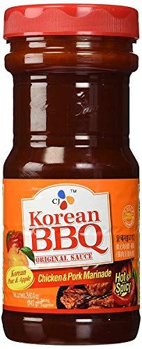 CJ Korean BBQ Original Sauce Chicken & Pork Marinade 29.63 Ounce (Pack of 1)