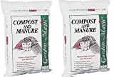 Michigan Peat 5240 Garden Magic Compost and Manure, 40-Pound (2)