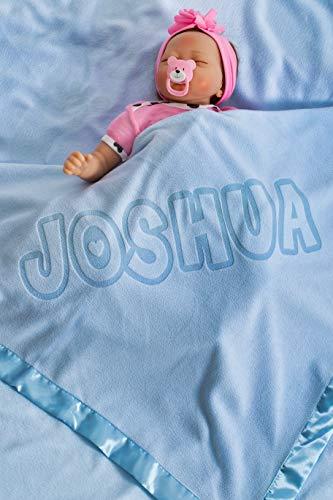 La couverture de lit personnalisable pour la naissance d'un garçon