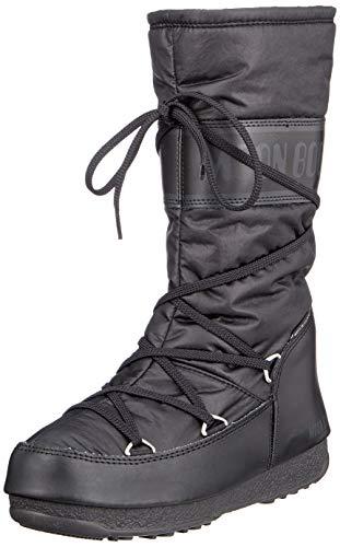 Moon-boot W.E. Soft Shade WP, Bottes de Neige Femme, Noir (Nero 001), 35 EU