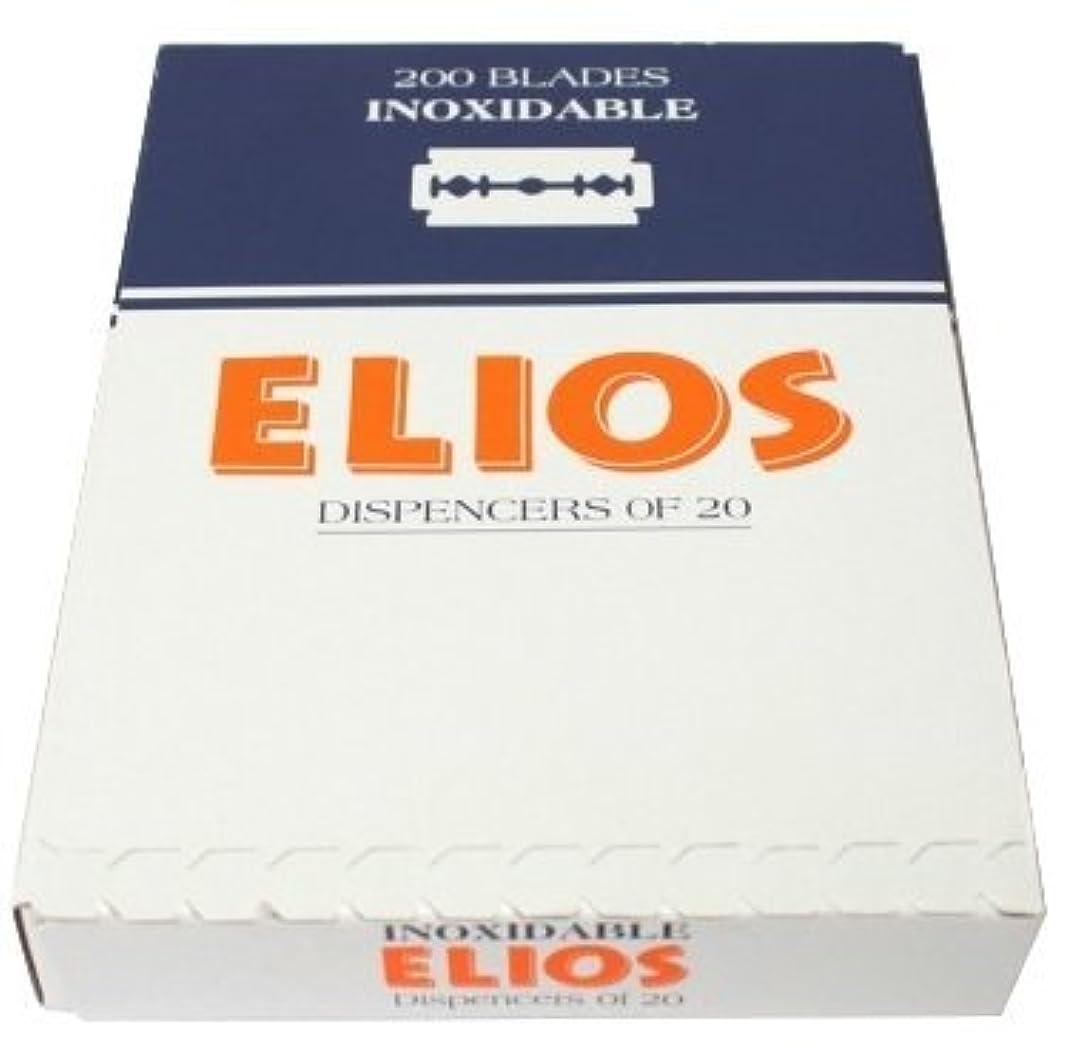 教えてことわざ同じElios Inoxidable 両刃替刃 100枚入り(10枚入り10 個セット)【並行輸入品】