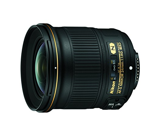 Nikon AF-S FX NIKKOR 24mm f/1.8G ED Fixed Zoom Lens with Auto Focus for Nikon DSLR Cameras