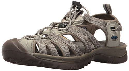 KEEN Women's Whisper Sandal, Agate Grey/Blue Opal, 7 M US