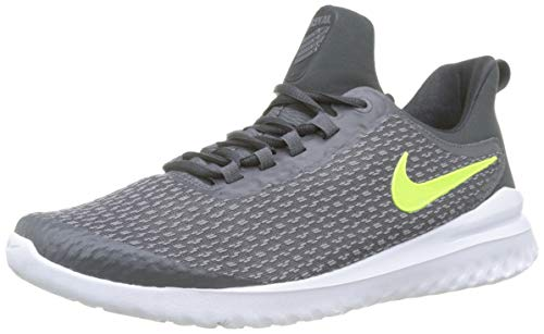 NIKE Mens Renew Rival Dark Grey Volt Anthracite Grey Size 11
