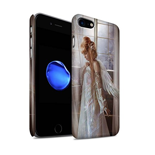 Elena Dudina telefoonhoesje/Cover/Skin/IP-3DSWM / Elegante feeën collectie Apple iPhone SE 2020 Bloem Jurk/Bruid