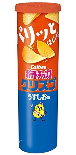 カルビーポテトチップス クリスプうすしお味 115g×12個