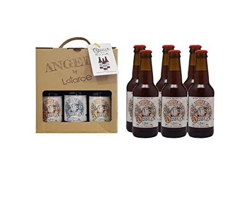 Cervezas Artesanas Latarce   Pack Cartón 6 Cervezas Variedad British Brown Ale Angel's By Latarce   British Brown Ale   Cervezas Artesanas   Cerveza Artesana