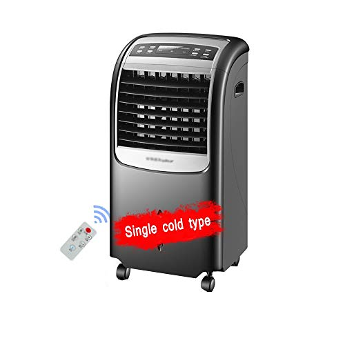 XSJZ Aria Condizionata Ventilatore di Refrigerazione, Telecomando A Pavimento Timing Air Cooler Frigorifero Domestico Dormitorio Condizionatore d Acqua Piccola Mini Raffrescatore Evaporativo