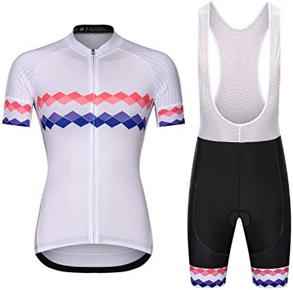 Women Cycling Jersey Short Sleeve Cycling Clothing Sets Ladies Jacket Cycling Shirt with Shorts product image