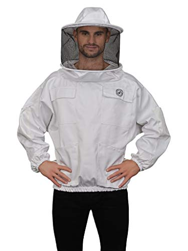 Humble Bee 510 Polycotton Beekeeping Smock with Round Veil