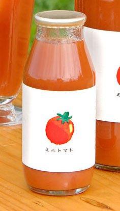 【健康村コロポックルの里から】 食塩無添加 完熟ミニトマトジュース 180ml (高糖度キャロルセブンを使用)(無塩)[トマトジュース]