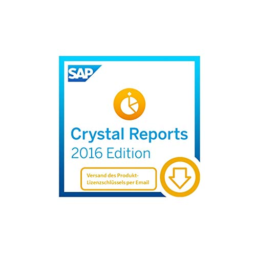 SAP Crystal Reports 2016 Reporting software [32 Bit] [PC Download]