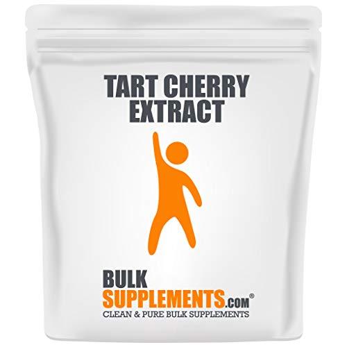 BulkSupplements.com Tart Cherry Extract - Uric Acid Support - Sour Powder - Cherry Extract for Baking - Tart Cherry Powder (1 Kilogram)