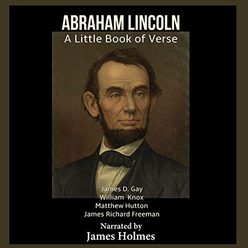 『Abraham Lincoln: A Little Book of Verse』のカバーアート