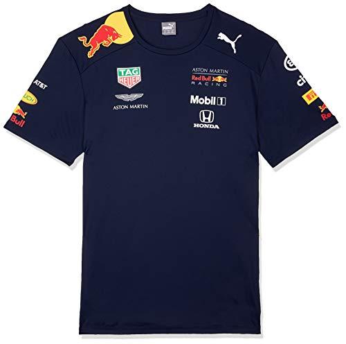 Red Bull Racing Herren Aston Martin Team Tee 2019, XL T-Shirt, Blau (Navy Navy), X-Large (Herstellergröße