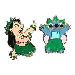 Disney Pins - Lilo and Stitch Hula Dancing - Pin 74232