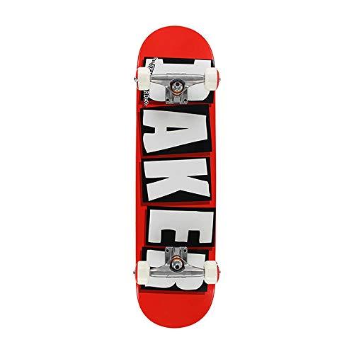 Baker Complete Brand Logo RED/WHT Skateboard 8.0