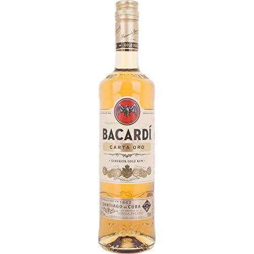 Bacardi Carta Oro 37,50% 0,70 Liter