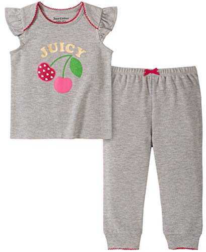 Juicy Couture Baby Girls' 2 Pieces Pants Set