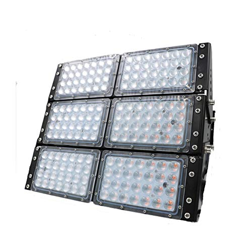 LED Pflanzenlicht Strahler 300W germ growth light zur Anzucht und Überwintern von Blumen, Gemüse und Grünpflanzen - neueste Technologie mit Vollspektrum LEDs Typ A Typ B Typ C (Keimwachstum)