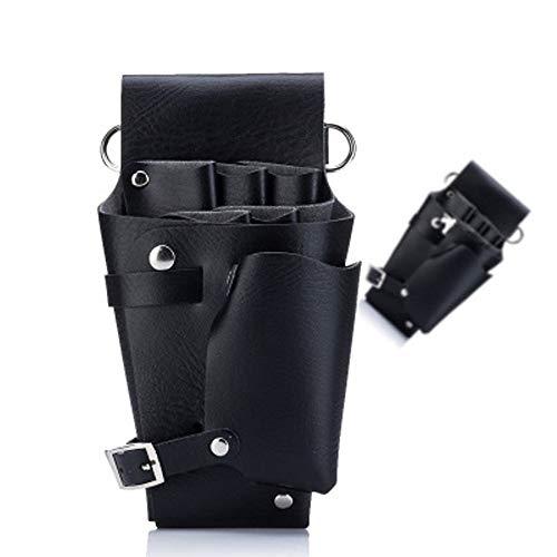 Cintura per parrucchiere, Borsa attrezzi per forbici parrucchiere, Borsa per attrezzi professionale da parrucchiere, cintura multifunzionale per pettine contenitore pettine multifunzione