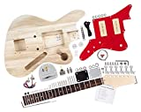 Rocktile Kit de Construction de Guitare Électrique Style JAG