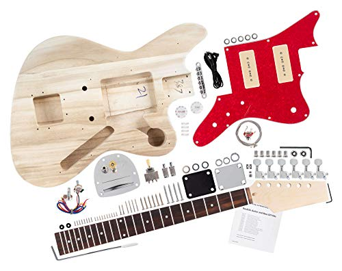 Rocktile DIY JAG Bausatz E-Gitarre -