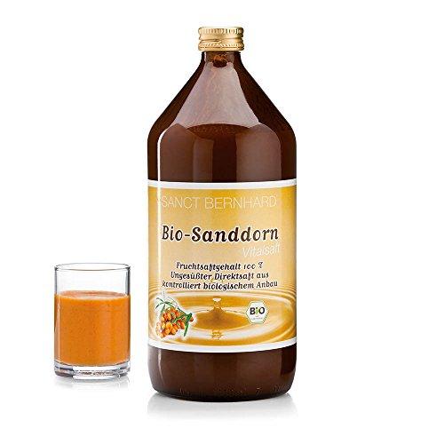 Sanct Bernhard Bio Sanddorn Vital-Saft 1 Liter