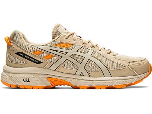 ASICS Zapatillas de correr Gel-Venture 6 SPS para hombre, marr�n (Putty/Putty), 46 EU