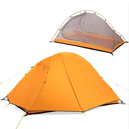 JooGoo Outdoor 2-3 Person Dome Tent Ultra Light Camping Rijden Dubbele Winddicht Regendicht Zonnebrandcrème Verdikking Tent