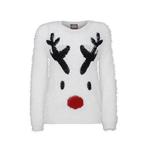 Christmas Shop - Maglione di Natale con Renna - Donna